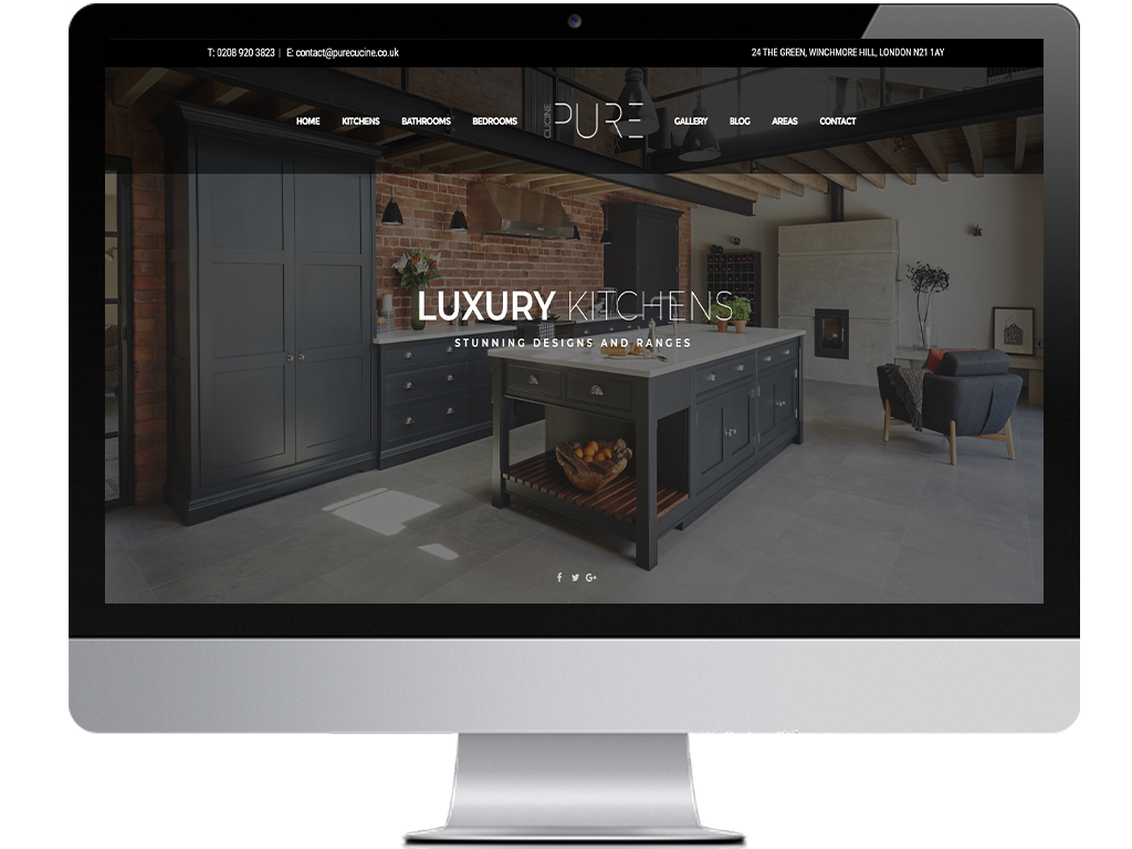 Kitchen & Bathroom Website